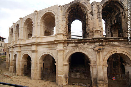 Arena of Arles - Photos of the city of Arles - Region of Provence-Alpes-Côte d'Azur - FRANCE. Image #29982
