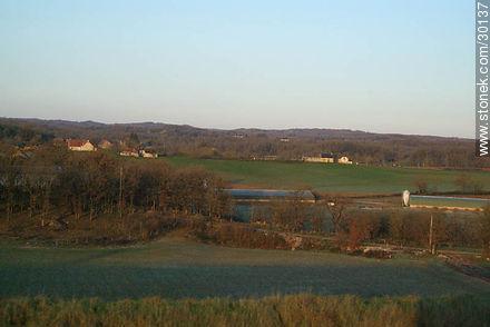 Landscape near Brive-la Gaillarde - Variety of photos of the region of Limousin - Region of Limousin - FRANCE. Image #30137