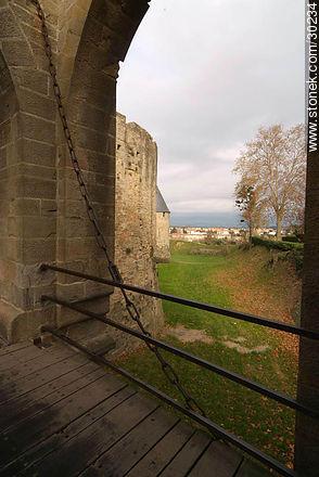 La Cité de Carcassonne - Photos of La Cité de Carcassonne - Region of Languedoc-Rousillon - FRANCE. Image #30234