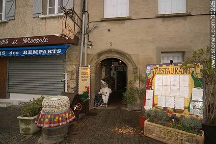 L'Ostal restaurant - Photos of La Cité de Carcassonne - Region of Languedoc-Rousillon - FRANCE. Image #30225