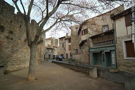 Le Pantagruel, resto bar. - Photos of La Cité de Carcassonne - Region of Languedoc-Rousillon - FRANCE. Image #30216