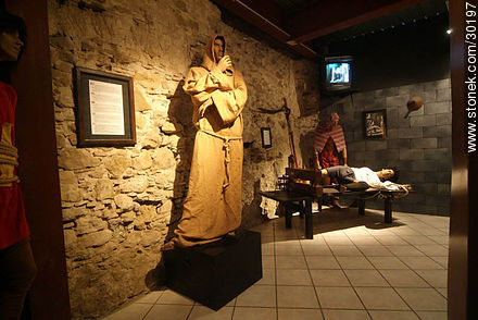 Museum of torture - Photos of La Cité de Carcassonne - Departament of Aude, FRANCE. Image #30197