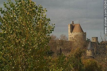 La Cité de Carcassonne - Photos of La Cité de Carcassonne - Region of Languedoc-Rousillon - FRANCE. Image #30246