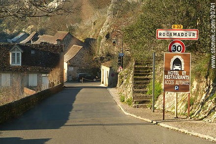 Rocamadour - Photos of Rocamadour - Department of Lot, FRANCE. Image #30741