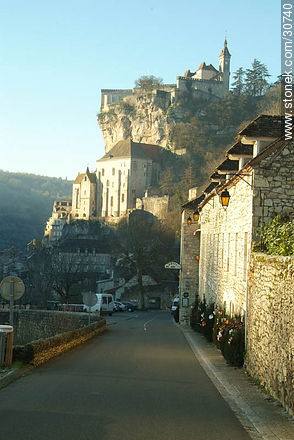 Rocamadour - Photos of Rocamadour - Department of Lot, FRANCE. Image #30740