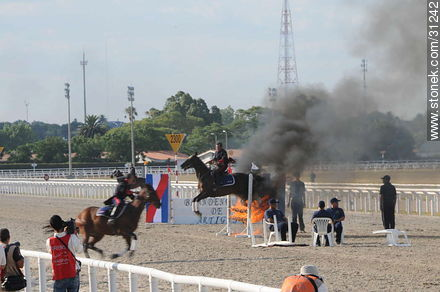 January 6, 2009. Prize J.P. Ramírez. - Photos of Maroñas horse racetrack - Department and city of Montevideo - URUGUAY. Image #31242