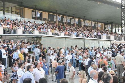 January 6, 2009. Prize J.P. Ramírez. - Photos of Maroñas horse racetrack - Department and city of Montevideo - URUGUAY. Image #31244