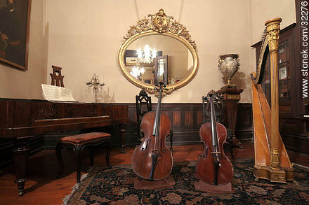 Romantic museum - Photos of the Old City - Department and city of Montevideo - URUGUAY. Image #32276
