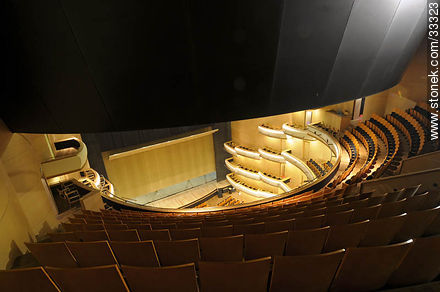 Concert hall in Sodre from the top seat - Photos of downtown - Department and city of Montevideo - URUGUAY. Image #33323