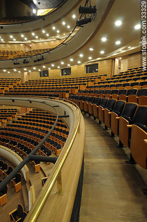 Eduardo Fabini Concert hall in Sodre - Photos of downtown - Department and city of Montevideo - URUGUAY. Image #33329