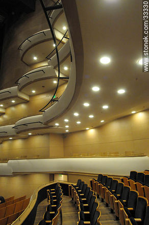 Concert hall in Sodre - Photos of downtown - Department and city of Montevideo - URUGUAY. Image #33330