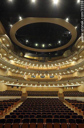 Concert hall in Sodre - Photos of downtown - Department and city of Montevideo - URUGUAY. Image #33338