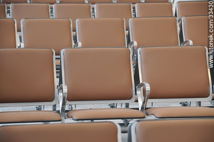 Waiting room seats - Photographic stock - MORE IMAGES. Image #33430