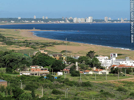 Punta del Este from Punta Ballena - Photographs of beaches of Punta del Este - Punta del Este and its near resorts - URUGUAY. Image #33882