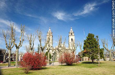 Treinta y Tres square.  - Photos of San José de Mayo - San José - URUGUAY. Image #34540