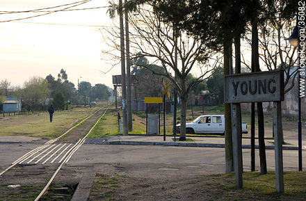 Young train station - Photos of Young city - Rio Negro - URUGUAY. Image #35082
