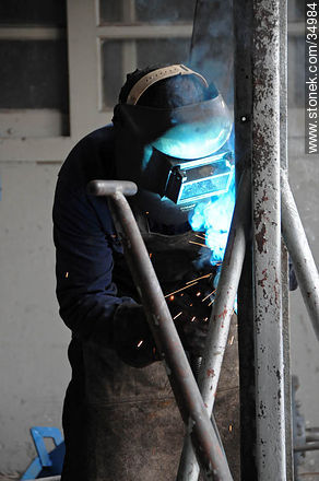 Welding - Photos of Young city - Rio Negro - URUGUAY. Image #34984