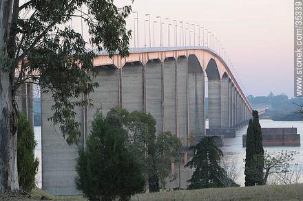 Puente San Martin Uruguay Puente San Martín Que Une Fray