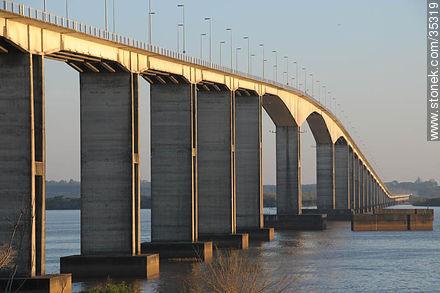 Puente San Martin Uruguay Puente General San Martín Que
