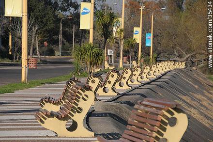 Fray Bentos promenade - Photos of Fray Bentos - Rio Negro - URUGUAY. Image #35434