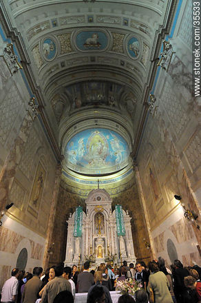 Pilgrimage to the Virgin of Treinta y Tres sanctuary. Cathedral basilica of Florida city. - Photo of Florida city - Department of Florida - URUGUAY. Image #35533