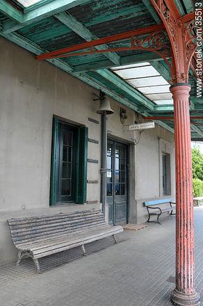 Train station.  - Photo of Florida city - Department of Florida - URUGUAY. Image #35513