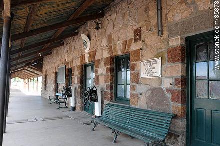 Durazno train station - Photos of Durazno city - Durazno - URUGUAY. Image #35873