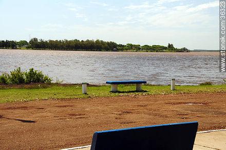 Rivera park is on the banks of the Uruguay river. - Photos of Bella Unión - Artigas - URUGUAY. Image #36323