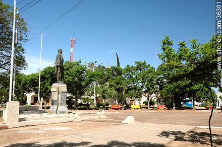 25 de Agosto Square. - Photos of Bella Unión - Artigas - URUGUAY. Image #36301