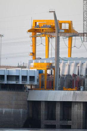 Salto Grande hydroelectric power - Photos of Salto Grande - Department of Salto - URUGUAY. Image #36574