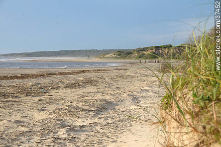 La Coronilla beach - Photos of La Coronilla resort - Department of Rocha - URUGUAY. Image #37452