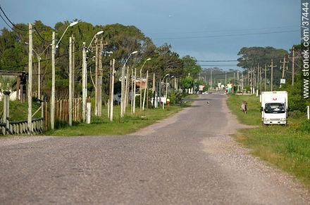 Entrance to La Coronilla - Photos of La Coronilla resort - Department of Rocha - URUGUAY. Image #37444