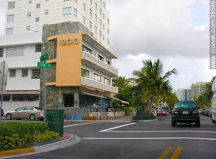 Ocean Drive at South Beach - Photos of Miami - State of Florida - USA-CANADA. Image #38586