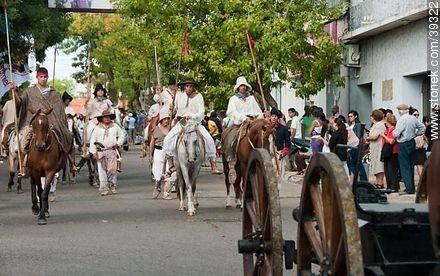 Photos of the recreation of the Pueblo Oriental Exodus, know as La Redota - Tacuarembo - URUGUAY. Image #39322
