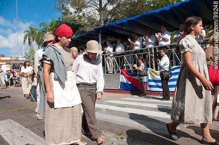 Photos of the recreation of the Pueblo Oriental Exodus, know as La Redota - Tacuarembo - URUGUAY. Image #39248