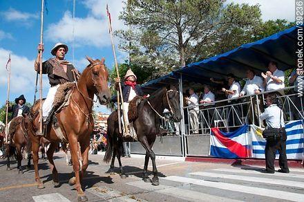 Photos of the recreation of the Pueblo Oriental Exodus, know as La Redota - Tacuarembo - URUGUAY. Image #39236