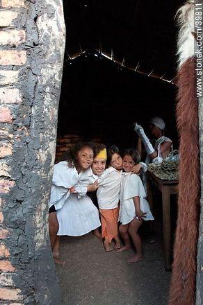 Girls in aparceria - Photos of Patria Gaucha festivity - Tacuarembo - URUGUAY. Image #39811