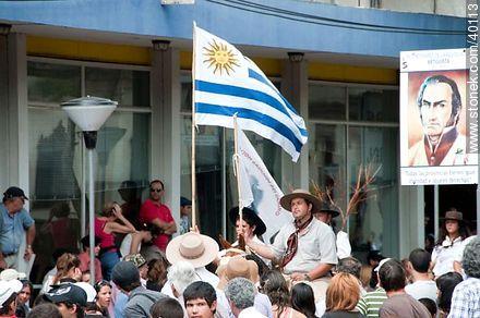 Photos of Native Societies parade - Tacuarembo - URUGUAY. Image #40113
