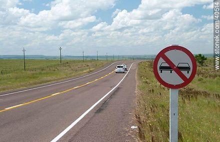 Route 5 Gen. Fructuoso Rivera in Tacuarembó. - Photos of the rural area of Tacuarembó - Tacuarembo - URUGUAY. Image #40514