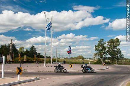 Motorcyclists. - Photos of Durazno city - Durazno - URUGUAY. Image #40488