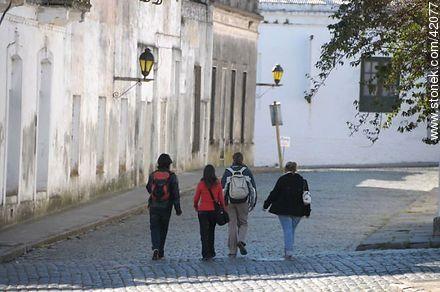 Santa Rita St. - Photos of Colonia del Sacramento - Department of Colonia - URUGUAY. Image #42077