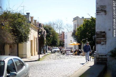 Real St. - Photos of Colonia del Sacramento - Department of Colonia - URUGUAY. Image #41967
