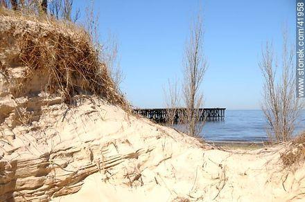 El Calabrés beach.  - Photos of Colonia del Sacramento - Department of Colonia - URUGUAY. Image #41958