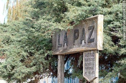 Train Station La Paz - Photos of city La Paz - Department of Canelones - URUGUAY. Image #43033