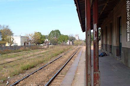 Train Station La Paz - Photos of city La Paz - Department of Canelones - URUGUAY. Image #43029