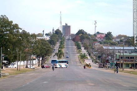 Bulevar del Bicentenario - Photos of city of Las Piedras - Department of Canelones - URUGUAY. Image #43022