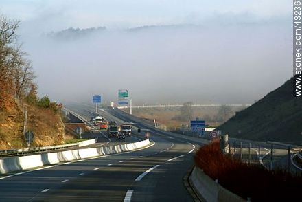 E70 motorway east - Photos of the region of Aquitaine - Region of Aquitaine - FRANCE. Image #43236