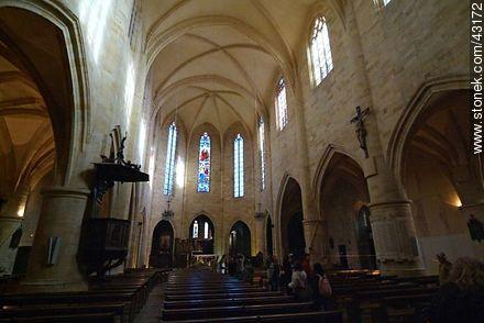 Sarlat-la-Canéda. Interior of the Cathedral of Saint Sacerdos. - Photos of Sarlat - Region of Aquitaine - FRANCE. Image #43172