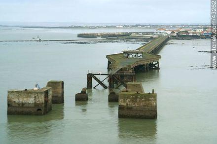 Dock - Photos of Marennes-Oléron - Region of Poitou-Charentes - FRANCE. Image #43262
