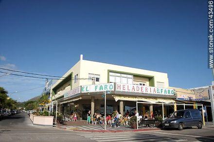 El Faro ice-cream parlor - Photos of Piriapolis - Department of Maldonado - URUGUAY. Image #43496